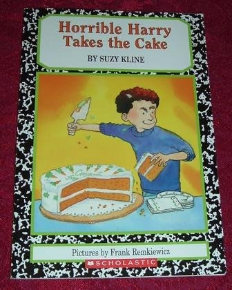 Paperback - Horrible Harry Takes The Cake