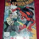 Web of Spider-Man Face-To-Face with the Chameleon Comic Book #54