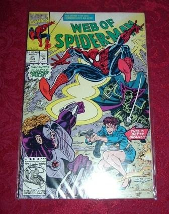 Web of Spider-Man The Hunt For The Hobgoblin�s Killer! Comic Book