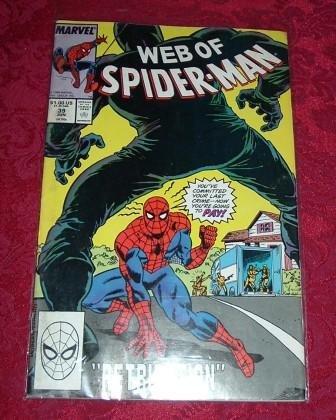 Web of Spider-Man Retribution Comic Book