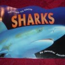 Paperback - Getting To Know Sharks