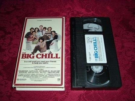 VHS - The Big Chill Rated R