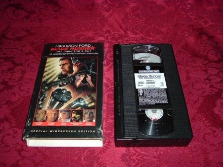 VHS - Blade Runner Directors Cut Rated R