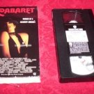 VHS - Cabaret Rated PG Starring Liza Minnelli and Pter York