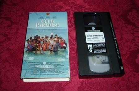 VHS - Club Paradise Rated PG-13