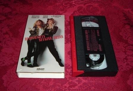 VHS - Desperately Seeking Susan Rated PG-13