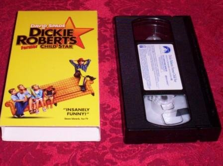 VHS -  Dickie Roberts: Former Child Star Rated PG-13