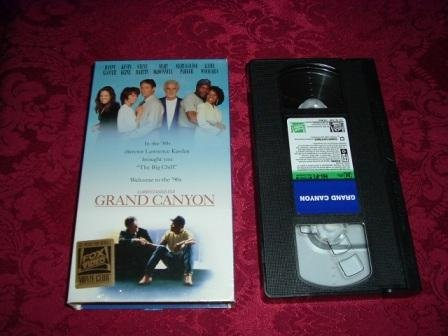 VHS -  Grand Canyon Rated R