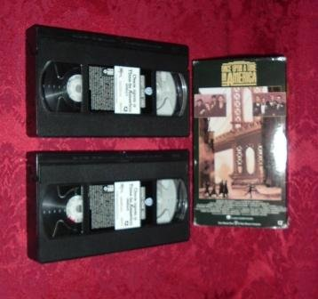 VHS - Once Upon A Time In America Rated R