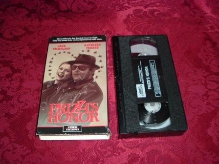 VHS -  Prizzi�s Honor Rated R