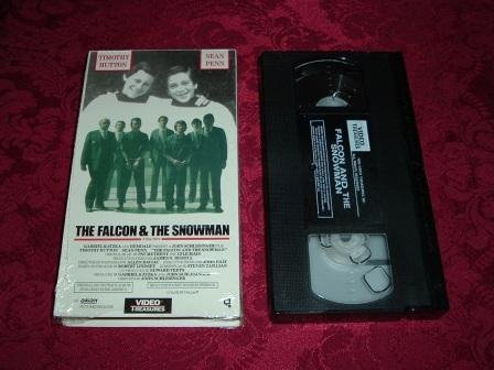 VHS -  The Falcon and the Snowman Rated R