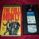 VHS -  The Full Monty Rated R