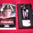 VHS -  A Nightmare On Elm Street Rated R