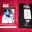 VHS -  Basic Instinct, Director's Cut Rated UR