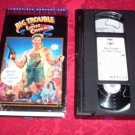 VHS -  Big Trouble in Little China Rated PG-13