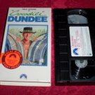 VHS -  Crocodile Dundee Rated PG-13