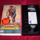 VHS -  Crocodile Dundee II Rated PG