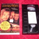 VHS -  Legends of the Fall Rated R