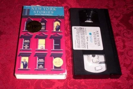 VHS -  New York Stories Rated PG