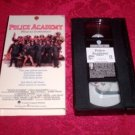 VHS - Police Academy Rated R