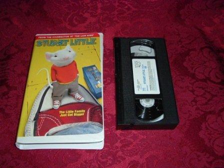 VHS - Stuart Little Rated PG