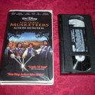 VHS - The Three Musketeers Rated PG