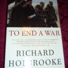 Hardcover - To End A War