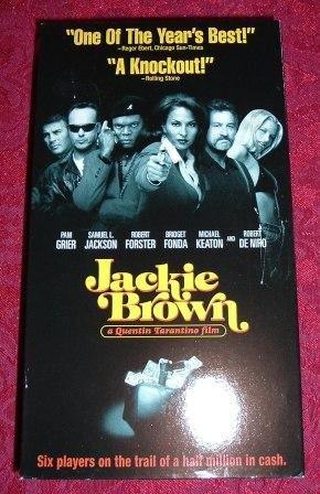 VHS - Jackie Brown Rated R