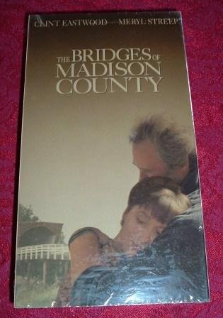 VHS - The Bridges of Madison County Rated PG-13