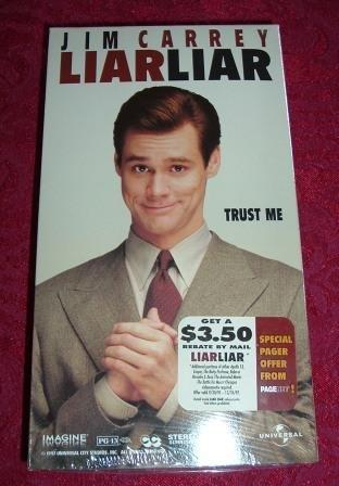 VHS - Liar Liar Rated PG-13