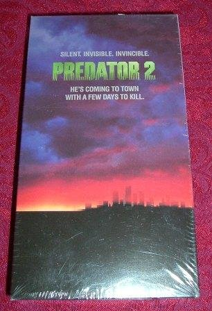 VHS - Predator 2 Rated R