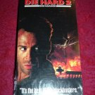 VHS - Die Hard 2 Rated R starring Bruce Willis