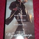 VHS - Wyatt Earp Rated PG-13 starring Kevin Costner and Dennis Quaid