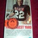 VHS - The Longest Yard Rated R starring Burt Reynolds