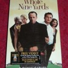 VHS - The Whole Nine Yards Rated R starring Bruce Willis