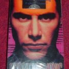 VHS - Johnny Mnemonic Rated R starring Keanu Reeves