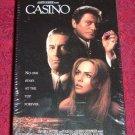 VHS - Casino Rated R starring Robert De Niro and Sharon Stone