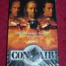 VHS - Con Air Rated R starring Nicolas Cage and John Cusack