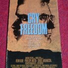 VHS - Cry Freedom Rated PG starring Denzel Washington and Kevin Kline
