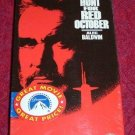 VHS - The Hunt For Red October Rated PG starring Sean Connery