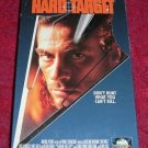 VHS - Hard Target Rated R starring Jean-Claude Van Damme