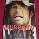 VHS - Murphys War Rated PG-13 starring Peter OToole