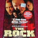 VHS - The Rock Rated R starring Sean Connery and Nicolas Cage