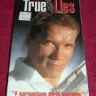 VHS - True Lies Rated R starring Arnold Schwarzenegger and Jamie Lee Curtis