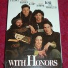 VHS - With Honors Rated PG-13 starring Joe Pesci and Brendan Fraser