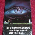 VHS - The Lawnmower Man Rated R starring Jeff Fahey and Pierce Brosnan