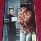VHS - Midnight Cowboy Rated R starring Dustin Hoffman and John Voight