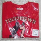 Toddler Boys Football Graphic T Shirt from Hanes Size 4T
