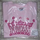Toddler Girls Princess Graphic T Shirt from Hanes Size 4T