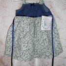 Toddler Girls Green Floral Print Dress Size 2T